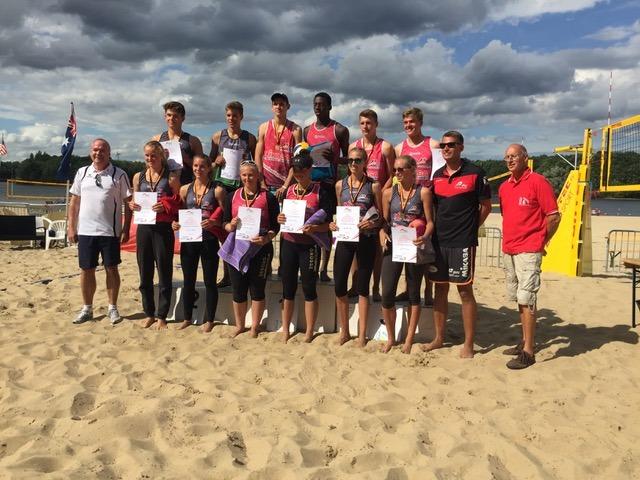 WVV Spieler holen Platz 1 und 3 bei U18 DM in Haltern am See