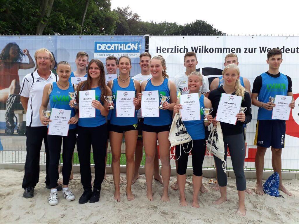 Westdeutsche Jugendbeachmeisterschaften U16 und U18