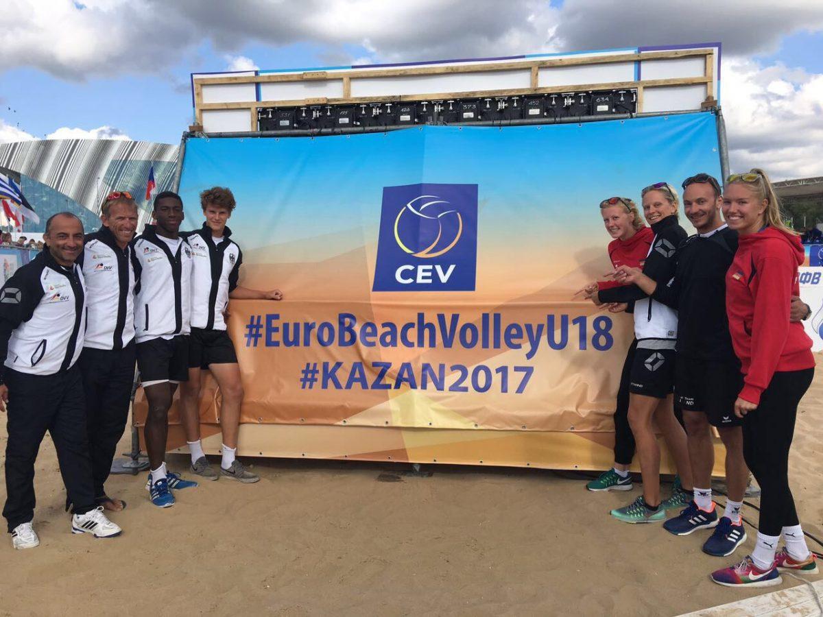 WVV Spieler bei U18 EM in Kazan erfolgreich