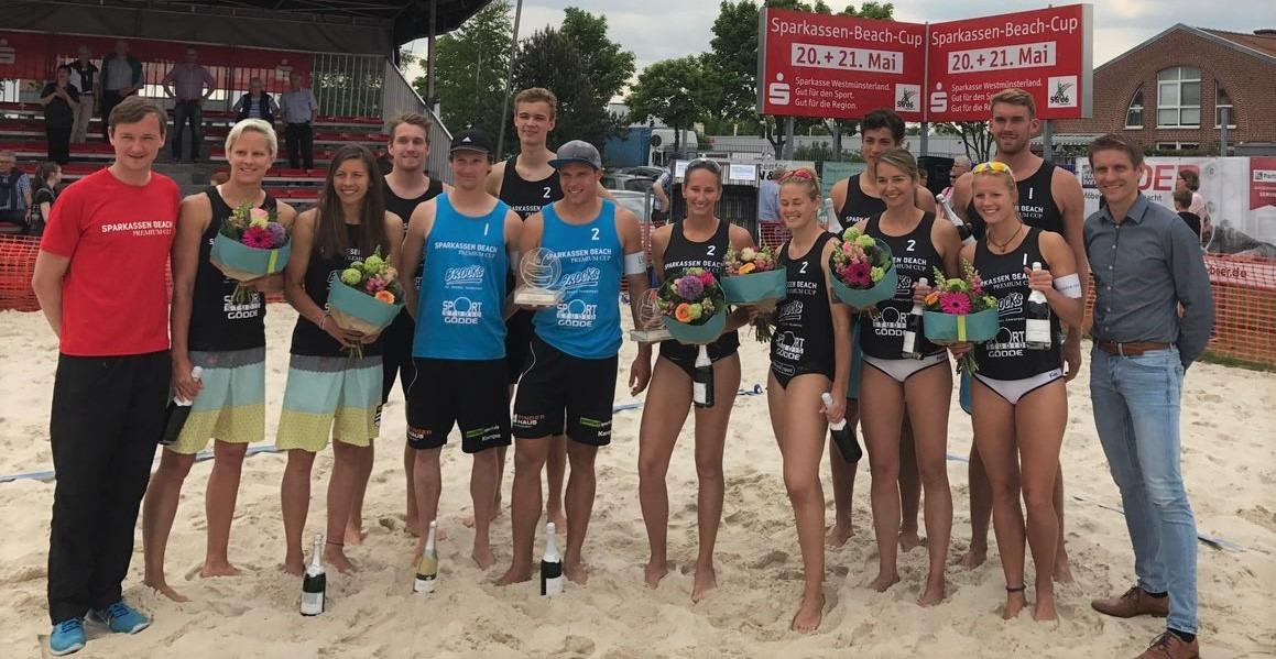 Sparkassen Beach Cup vom 25. bis 27.05. in Coesfeld