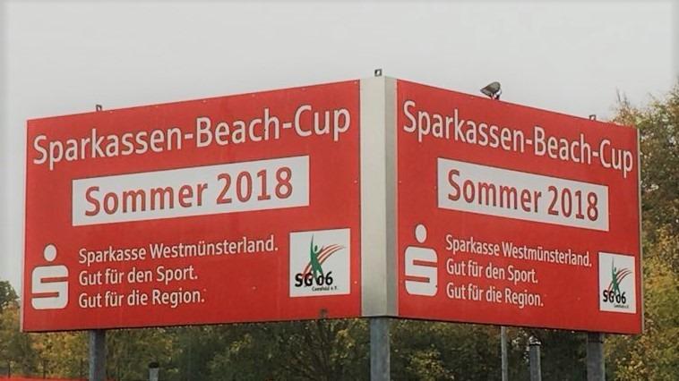 Meldeschluss für Sparkassen-Beach-Cup