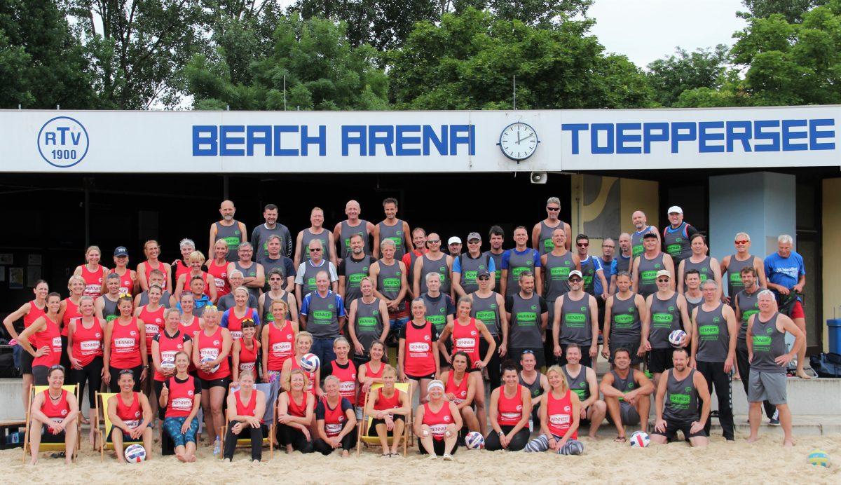 Erneute Rekordbeteiligung bei den Westdeutschen Seniorenmeisterschaften 2018