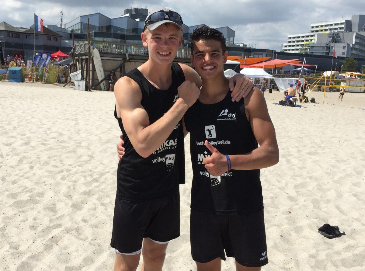 Bils/Salimi gewinnen Bundespokal Beach