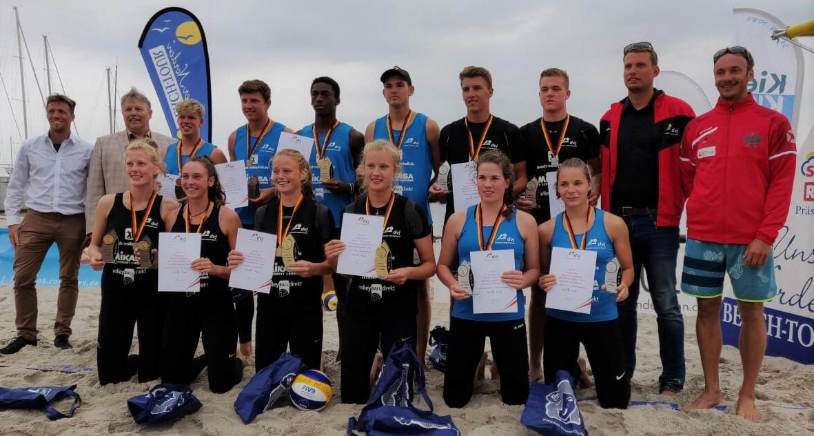 WVV Teams erfolgreich bei U19-DM