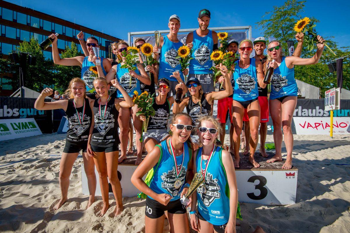Scott / Fröhlich und Dollinger / Kulzer gewinnen Urlaubsguru Beach-Cup