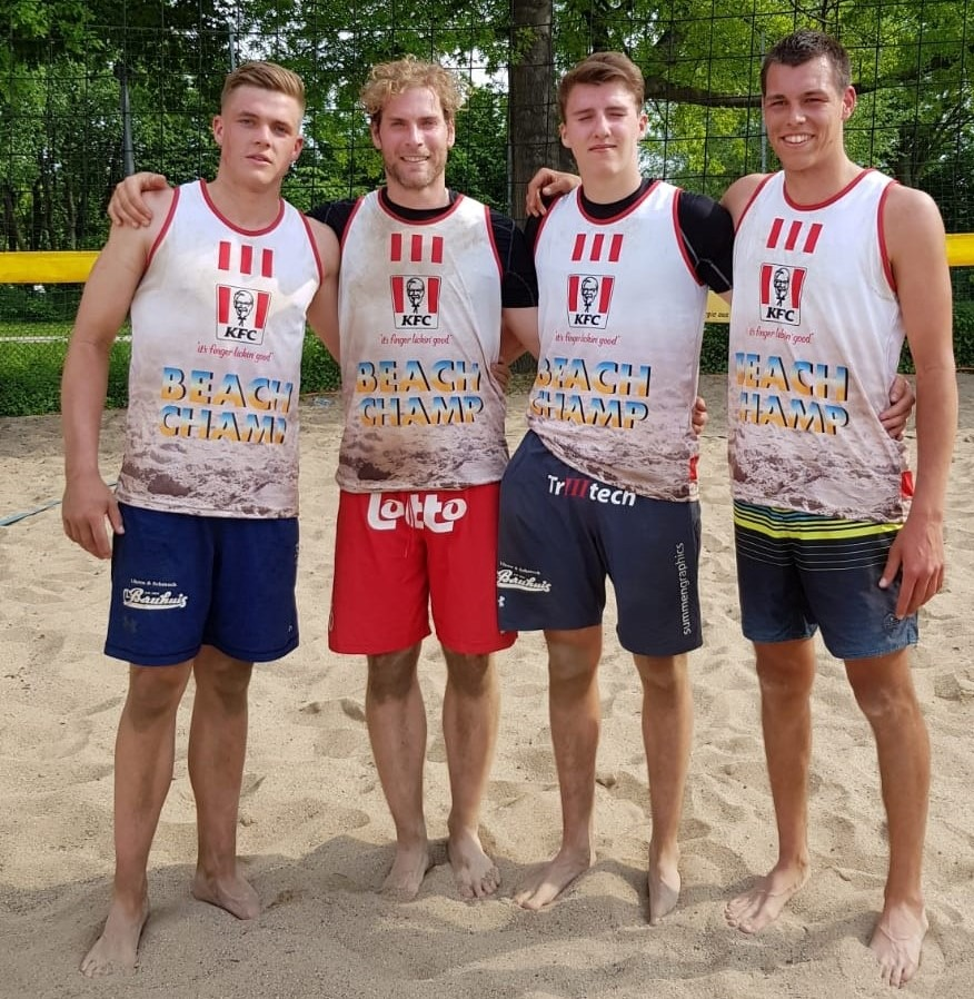 Thomas Just wird King of the Beach in Bocholt