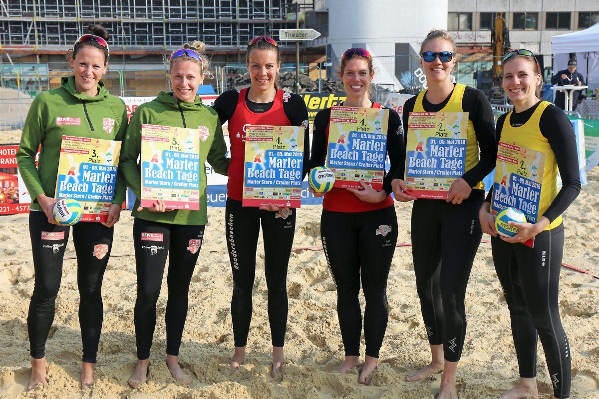 Ferger/Aulenbrock gewinnen Sparkasse Vest Beach-Cup