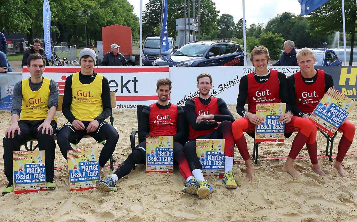Wernitz / Rudolf gewinnen Sparkasse Vest Beach-Cup