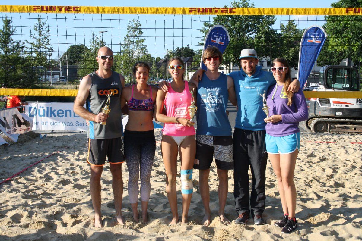 Jan Westerheider / Luisa Doss gewinnen 2. Dülkener City Beach-Cup