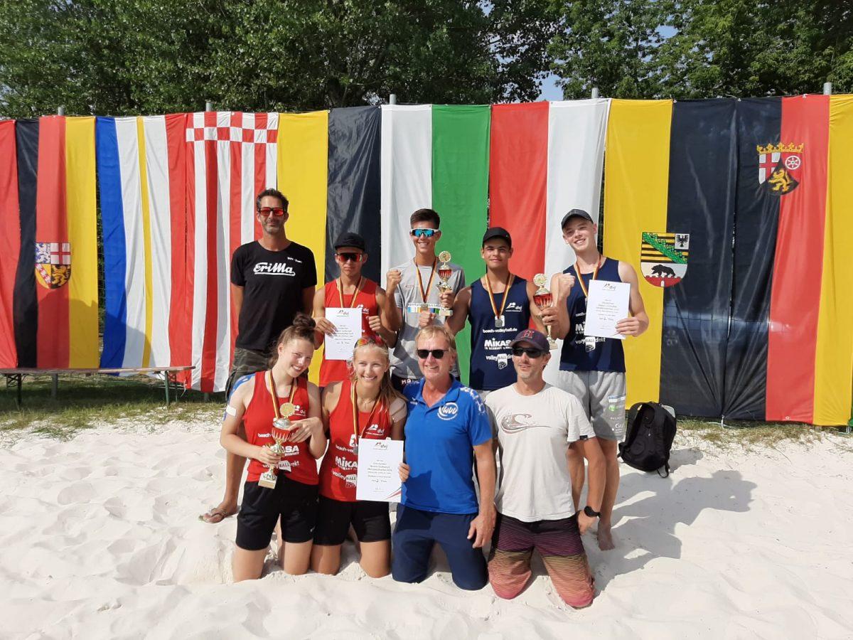 WVV-Erfolge bei U18 DM