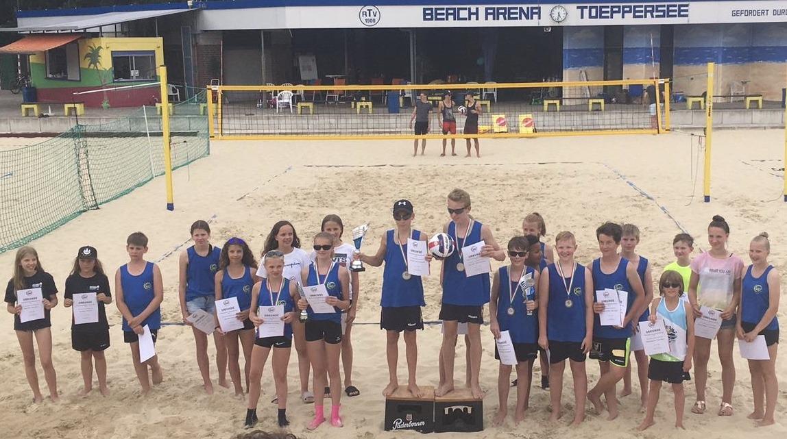 U14 Beach Meisterschaft: Premiere geglückt