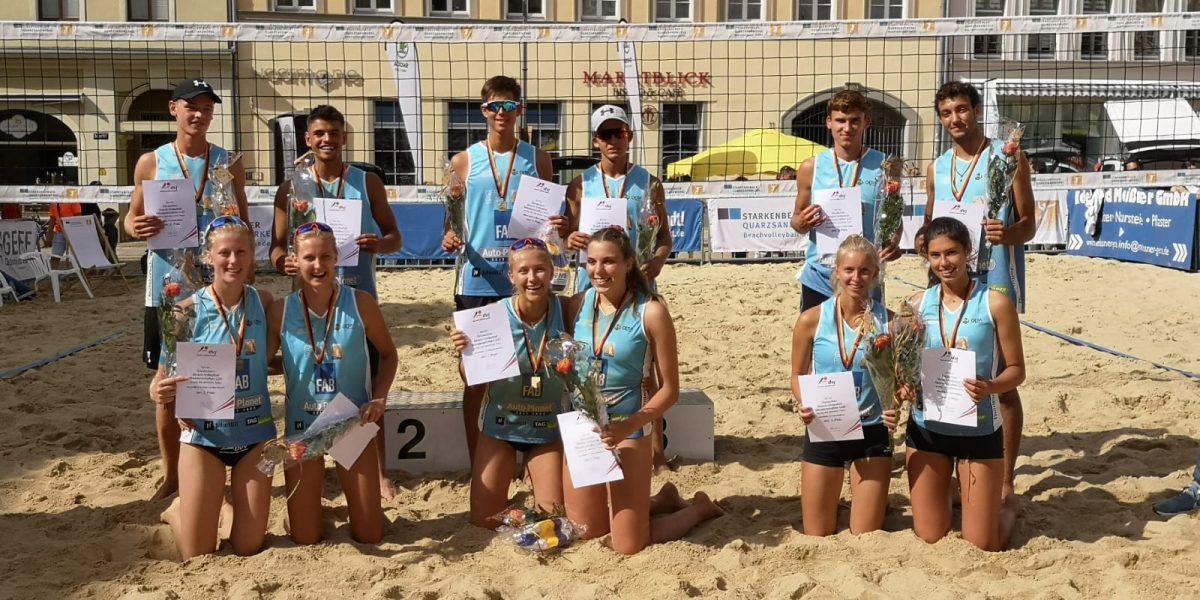 Doppel-Gold bei Deutscher U20-Meisterschaft