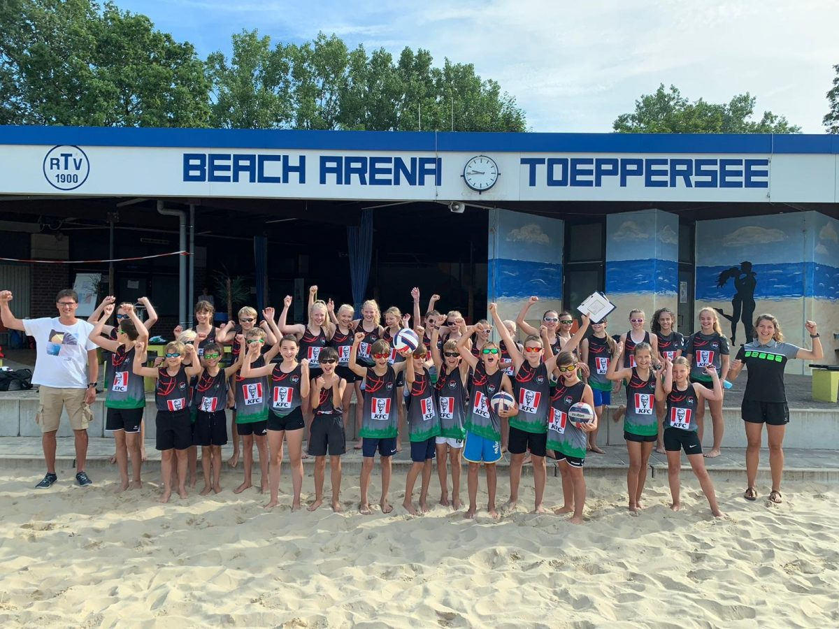 Erste U13 Beach WDM ein voller Erfolg